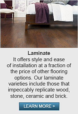 Laminate flooring from Abbey Carpet & Floor Of Harrisburg is the perfect material to complete any project with style!