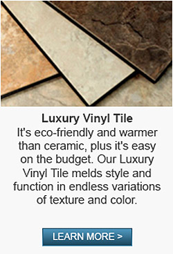 Abbey Carpet & Floor Of Harrisburg has a large selection of luxury vinyl tile in the area!  Stop by today to learn more!