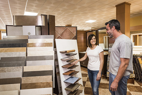 We work with you to select the perfect flooring for every room in your home.