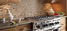 Tiles for kitchens, bathrooms and back splashes.